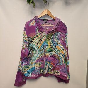 Kaktus zip up jacket
